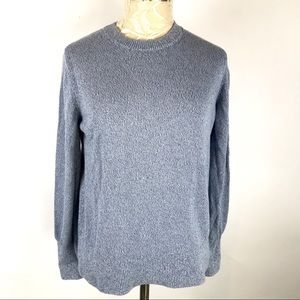 Everlane Blue Crew Neck Sweater Pull over